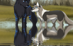 100 Theme: Water by TheWolfFight