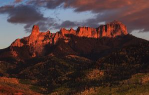Last Light at Chimney Rock by Jacob-Routzahn