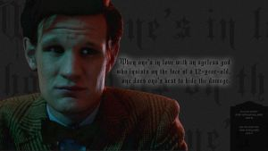 Doctor Who Wallpaper No2 by lieutenantsubtext