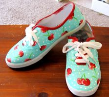 Cherry Shoes by rawrimadino96