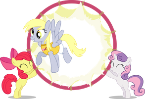 MLP Ponyville Forever + Derp by mewtwo-EX