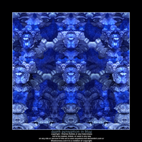 depth perception in blue by fraterchaos