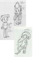 The Adventure Time Guys .:Sketch:. by Mintychipy