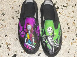 Jack and Sally shoes by Andres-Morales