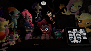 Five Nights at Pinkie's 2: Meet the Characters by DANJ16
