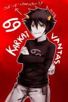 Out-of-character Karkat! by Shiric
