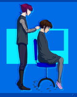 Haircut by neonparrot