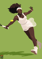 Serena Williams by FionaCreates