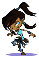 Korra the Explorer by REDexclamation