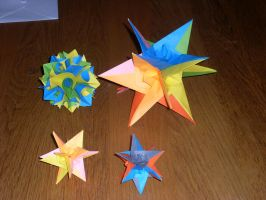 origami curler ball and... by pepel57