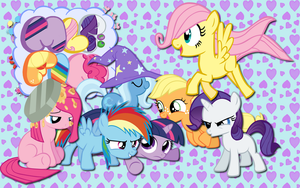 Friendship is small wallpaper by AliceHumanSacrifice0