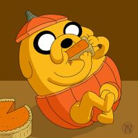 Pumpkin Time - Jake by -coldfusion-