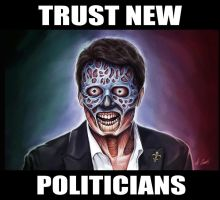 Trust New Politicians by AlessandroConti