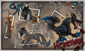 Sif and Heartless Ref Sheet by Ikebosev