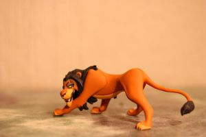 The Lion King 1 - Scar Choco Party Figure by CrocodileRawk