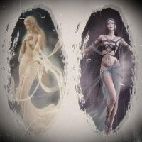Good and Evil - Shaiya Online by DarkMagicianQueen