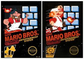 Super Mario Bros. Updated by ItsFrisbee