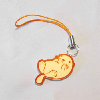 Sea Otter Phone Charm by Papacan