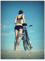 Bicycle by devoteeofart