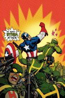 Captain America no.29 color by Devilpig