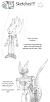 Just Some Sketches 1 by CCI545