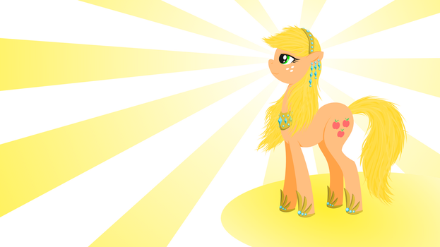 Fancy Applejack Wallpaper EQD ATG 30 by CrypticAnnelid