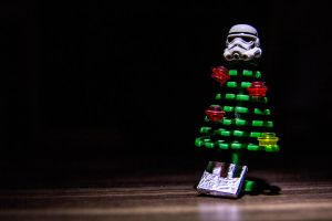 Lego Star Wars Stormtrooper - Christmas by neochan-pl