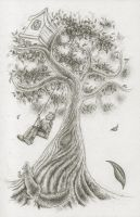 Tree Sketch by lunarhare