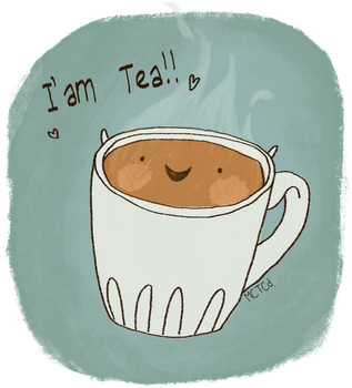 I Am Tea by victomoflove