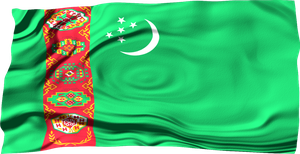 Flags of the World: Turkmenistan by MrAngryDog