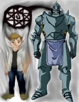 full metal alchemist Al work 4 by daylover1313