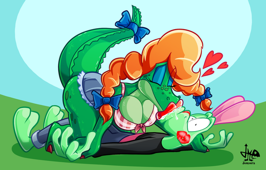 [A-T] Gator Wrassle by JAMEArts