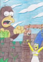 homer and marge by nancy-sumi