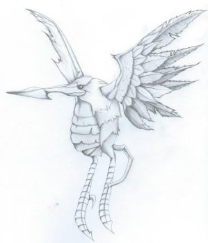 Simurgh - Final Fantasy X by MyChemicalRodents