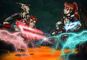 SH: Sibling Squall Stalemate by SaturnGrl