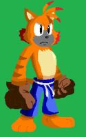 tigre sprite by ss2sonic