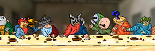 The Last Supper by Kackebango