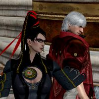 Bayonetta and Dante by Hatredboy