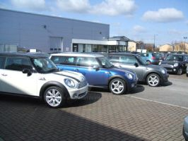 3 MINI Clubman's 2 by JordanB1