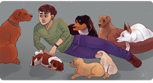 Puppies by Cptn-Nemo