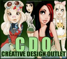 CDO Artist Of The Month June 2013 - PinUp Toons! by CreativeDesignOutlet