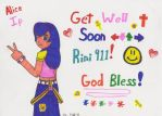 Get Well Soon Rini911 by MSKM2001