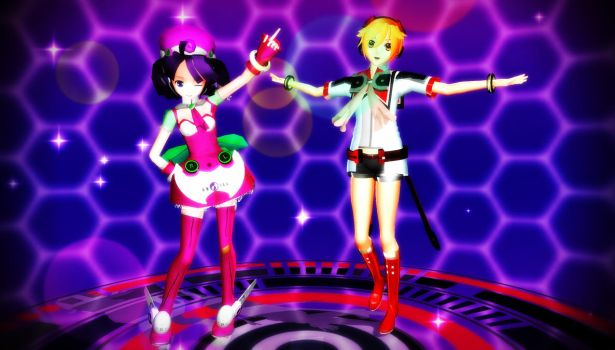 MMD Models Updates Lat Rion Tone + Lui Hibiki DL by Pokeluver223