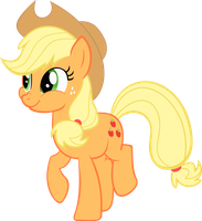 Applejack Vector #1 by kyleevee