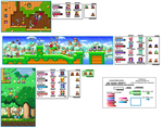 Kirby KSSU Co-Op Revenge of the King Version by SapphireGemNetwork