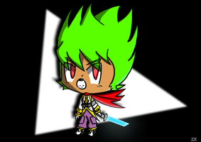 Serious Chibi Zap Astro by Crystal-Moore