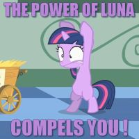 The power of Luna compels you! by Qewerka
