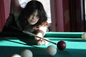 Maya and billiard 10 by Panopticon-Stock