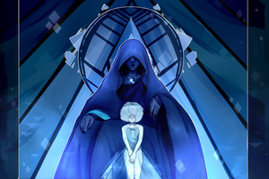 Blue Diamond and her pearl | STEVEN UNIVERSE by KitsuneZakuro