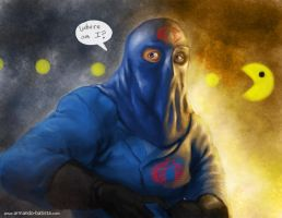 Cobra Commander by midknight23